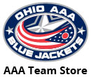 Victory AAA Team store for Blue Jackets apparel